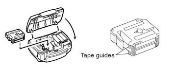 how to install brother p touch tape brother p touch pt 80 label printer tape questions with pictures