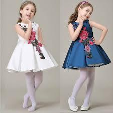 kids wedding dresses aliexpress buy royal style dress princess kids