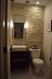 Small Half Bathroom Designs Bathroom Half Tiled Half Painted Superior Small Half Baths Design