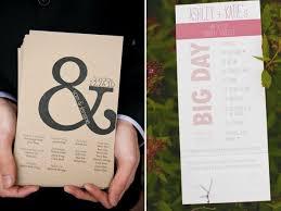 wedding day programs wedding day programs engaged inspired wedding planning