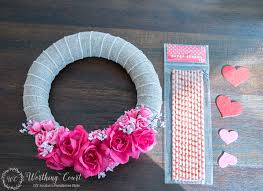 valentines day wreaths how to make a s day wreath for 10 worthing court