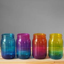 colored glass kitchen canisters best jar glass set products on wanelo