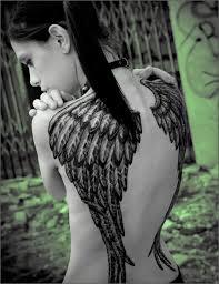 wing back pieces 1000 geometric tattoos ideas