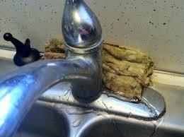 leak kitchen faucet unique kitchen faucet leaking from base kitchen faucet