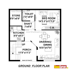 home plan design 100 sq ft house plan for 30 feet by plot size 100 square yards sq ft plans