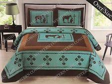 100 polyester cowboy western comforters u0026 bedding sets ebay