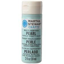 martha stewart crafts 2oz multi surface pearl acrylic craft