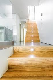 decorations great looking automatic led stair lights with wooden