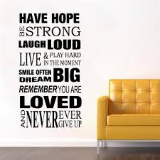 Bedroom Wall Stickers Sayings Online Get Cheap Removable Wall Sticker Sayings Aliexpress Com