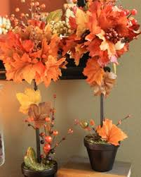 fall diy a small topiary tree ideas for interior