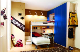 Corner Bunk Beds Compact Corner Bunk Bed Combined Modern Blue Storage Cupboard Of