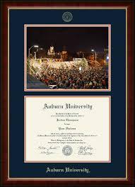 auburn diploma frame auburn toomer s corner cus diploma frame in