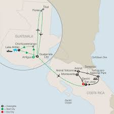 Map Of San Jose Costa Rica by Highlights Natural Wonders Of Costa Rica With Guatemala 2017