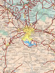Map De Los Angeles by Index Of Puebla State Mexico