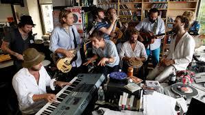 Npr Small Desk Edward Sharpe And The Magnetic Zeroes Npr Tiny Desk Concert