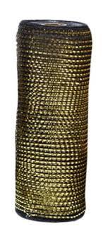 wide mesh ribbon caffco international wide mesh ribbon metallic
