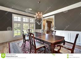 dining room with olive colored walls stock images image 12523984