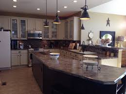 Enamel Kitchen Cabinets by Our Painted Cabinets Came Out Beautifully We Used Behr Alkyd Semi