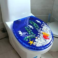 Decorative Toilet Seats Decorative Toilet Seats Blue Toilet Seat