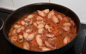 comment cuisiner les encornets recette encornets à la tomate 750g