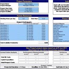 Excel Templates Project Management Excel Project Management Template With Gantt Schedule Creation