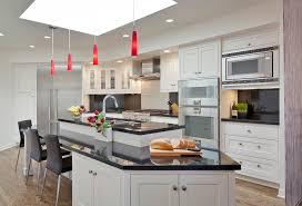 Red Kitchen Lights by Red Pendant Light Kitchen Contemporary With Clear Dining Pendant