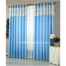 White And Blue Curtains Blue And White Curtains For Bedroom Aciu Club