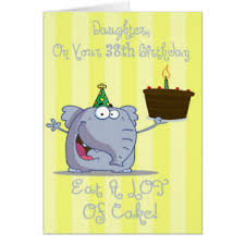 38th birthday cards greeting u0026 photo cards zazzle