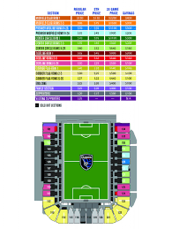 Fc Dallas Stadium Map by New Stadium Sold Out Of Club Seats Luxury Suites San Jose