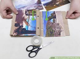Accordion Photo Album 3 Ways To Create A Diy Photo Album Wikihow