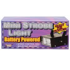 halloween battery operated mini strobe light target