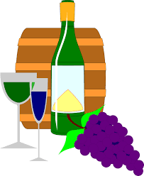 wine clipart free wine glass and grapes clipart image 12186 wine glass and