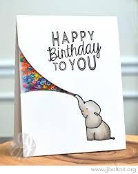 happy birthday card ideas lilbibby com