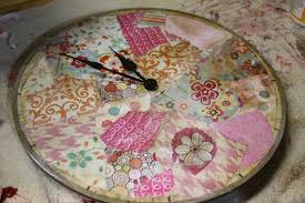 decoupage blog tutorial decoupage a clock a junk upcycle tutorial art moms blog