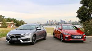 honda civic or hyundai elantra hyundai elantra sr turbo vs honda civic turbo comparison review