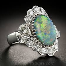 turquoise opal engagement rings black opal platinum and diamond ring