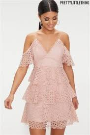 pretty thing dresses buy women s dresses pretty thing pink prettylittlething