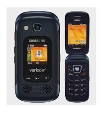Rugged Phone Verizon Samsung Convoy 4 B690 Black Verizon Rugged Flip Cell Phone Water