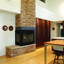 Dual Gas And Wood Burning Fireplace by Multi Sided Fireplaces Woodlanddirect Com Fireplace Units See
