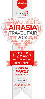 airasia travel fair airasia travel fair event by elaine wong at coroflot com