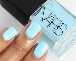 summer blue nail polish nail art and polish to try pinterest