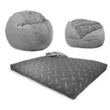 does amazon have black friday on furniture amazon com cordaroy u0027s chenille bean bag chair charcoal full