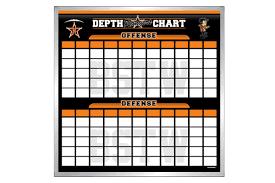 Football Depth Chart Template Excel Depth Chart Boards Football Boards Schoolpride