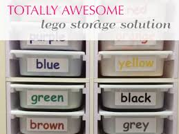 Storage Solution Random Crafting Adventures Totally Awesome Lego Storage Solution