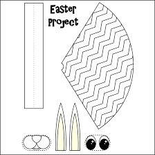 easter basket templates printable u2013 happy easter 2017