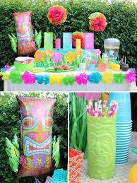 luau backyard party ideas home design inspirations