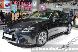 lexus v8 gs lexus to launch in india in august with three models