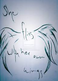 tattoos of sayings and quotes she flies with her own wings pretty this reminds me of you