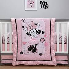 Minnie Crib Bedding Set Disney Minnie Mouse Hello Gorgeous 3 Crib