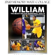 sports memory mates 8x10 basketball u2013 ashedesign